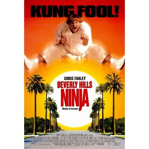 Amazon.com: (27x40) Beverly Hills Ninja Movie Chris Farley Original