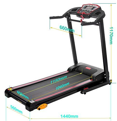 Merax 1 5hp Folding Electric Treadmill Motorized Running