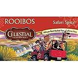 Celestial Seasonings Safari Spice Rooibos Tea, 20 Count (Pack of 6)