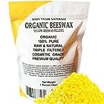 100% Organic Yellow Beeswax Pellets 1...