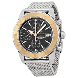 Breitling Superocean Chronograph Black Dial Automatic Mens Watch U1332012-B908SS