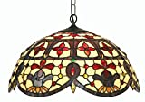 Oaks Lighting Jessamine - Lampada stile Tiffany
