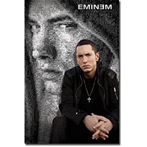 Eminem Collage Poster RS2556