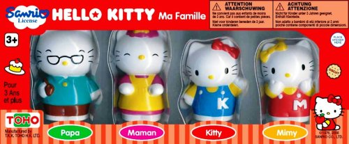Hello Kitty and Family Figures