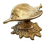 ITOS365 Brass Aarti Diwali Diya Oil Lamp For Puja Home Décor Gift