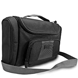 USA Gear Professional Business / Office Portable Projector Breifcase Bag -Works For NEW LG PG65U / HP AX325AA Notebook / Favi RioHD / AAXA P300, P4X Pico / Optoma W304M and Accessories!