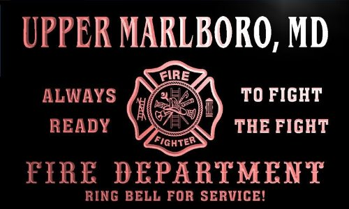 qy57513-r-fire-dept-upper-marlboro-md-maryland-firefighter-neon-sign