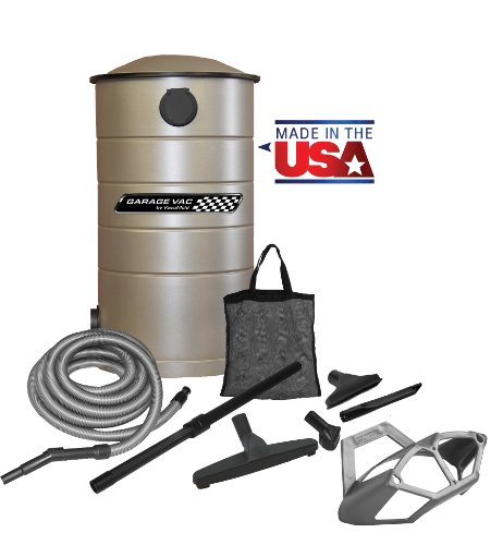 Images for VacuMaid GV50 Wall Mounted Garage Utility Vacuum with 50 foot Hose and Blow Function