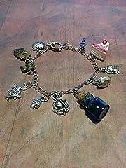 Alice in Wonderland Fandom Charm Bracelet