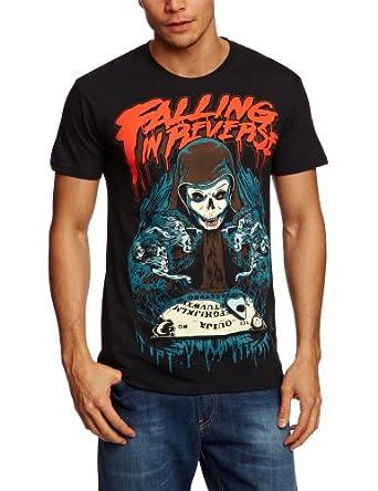 Plastic Head Falling In Reverse Ouija Board Men's T-Shirt Black Small