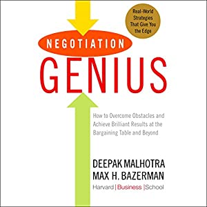 Negotiation Genius Audiobook