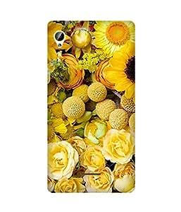 Yellow Floral Intex Aqua Power Plus Case