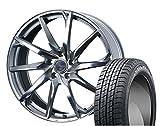 [235/40R19]GOODYEAR / ICE NAVI ZEA II スタッドレス [2/-][Weds / LEONIS GREILA α (HSM) 19インチ] スタッドレス&ホイール4本セット レクサスGS(10系 ※エアセンサー装着車は適合しない場合があります。お問い合わせ下さい)、マークX(130系 ※ビックキャリパー車 3.5L&Gz全車)