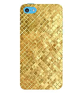 EPICCASE Golden Pattern Mobile Back Case Cover For Apple iPhone 5c (Designer Case)