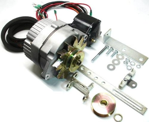 New Ford Early 8N, 2N, 9N ONE-WIRE Alternator Conversion Kit to change from old style generator. Ford 8N, 2N, 9N 1939 1940 1941 1942 1943 1944 1945 1946 1947 1948 1949 1950 1951. (One Wire Alternator Conversion compare prices)