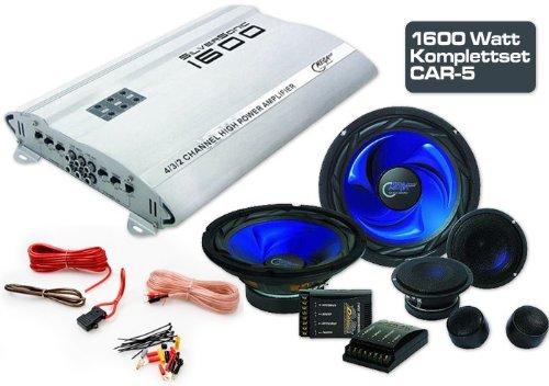 1600W Auto Musikanlage Verstärker Endstufe Kabelkit