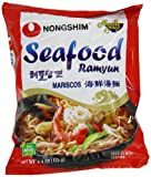 Nongshim Seafood Noodle Ramyun, 4.4-Ounce Packages (Pack of 20)