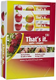 That\'s It Fruit Bars - Apple & Mango - 1.2 oz - 12 ct