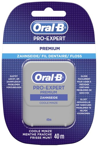 Oral-B Proexpert Zahnseide Premiumfloss 40m, 4er Pack (4 X 1...