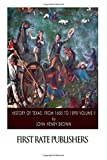img - for History of Texas: from 1685 to 1892 Volume II book / textbook / text book