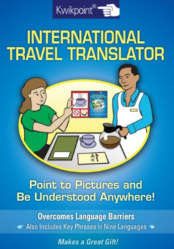 Kwikpoint International Translator (English, Spanish, French, Italian, German, Japanese, Russian, Ukrainian, Chinese, Hindi, Tamil, Telug, ... ... ... Gujarati, Bengali and Korean Edition)