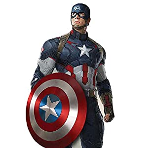 Marvel Avengers Age of Ultron Captain America Lifesize Cardboard Cutout - 190cm