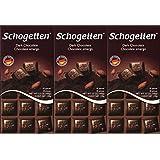 Schogetten German Dark Chocolate (Pack of 3)