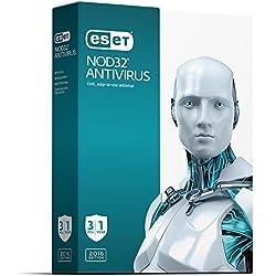 ESET NOD32 Antivirus 2016 for 3-PCs / 1-Year