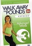 Walk Away Pounds Express: 3 Mile Advanced Walk [DVD] [Import]