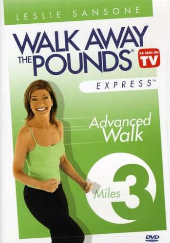 Walk Away Pounds Express: 3 Mile Advanced Walk [DVD] [Region 1] [US Import] [NTSC]