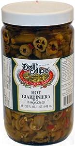 Dell'Alpe Hot Giardiniera - 32oz from Dell'Alpe