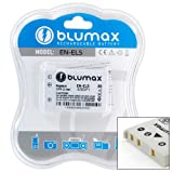 Blumax ® Nikon EN-EL5 ENEL5 Battery for Coolpix 3700, 4200, 5200, 5900, 7900, P100, P3, P4, P5000, P5100, P6000, P80, P90, S10