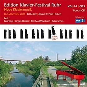 Contemporary Piano music by Birtwistle, Carter, Harbsion, Meyer, Schleiermacher, Rihm etc