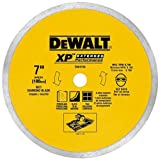 DEWALT DW4766 7-Inch by .060-Inch Porclean Tile Blade Wet (Color: Yellow, Tamaño: 5/8