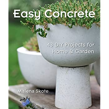 Set A Shopping Price Drop Alert For Easy Concrete: 43 DIY Projects for Home & Garden