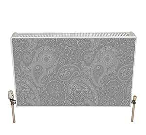 radwraps swirl magnetic radiator cover grey. Black Bedroom Furniture Sets. Home Design Ideas