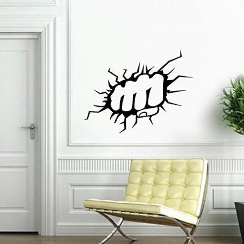 kamay-sr-monocromo-extraible-respetuoso-con-el-medio-ambiente-blanco-y-negro-pared-pegatinas-dormito