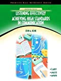 img - for Listening Effectively: Achieving High Standards in Communication (NetEffect Series) by Kline, John A. 1st edition (2002) Paperback book / textbook / text book