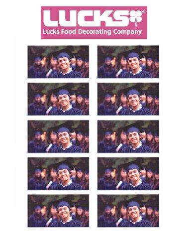 Lucks 43255 - Business Cards Print-Ons Edible