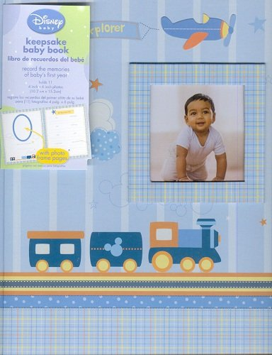 Little Explorer Keepsake Memory Book With Photo Frame Pages