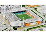 Photographic Print of Carrow Road Stadia Art - Norwich City FC 9376274 from Sports Stadia Art
