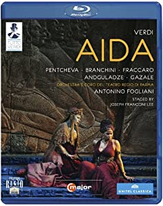 Aida: Teatro Regio Di Parma (Fogliani) [Blu-ray] by C Major
