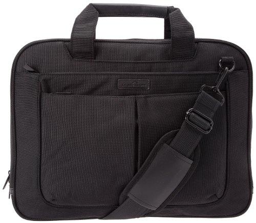 La Bagagerie Manhattan Borsa per Laptop uomo, Nero (Noir), Taglia Unica