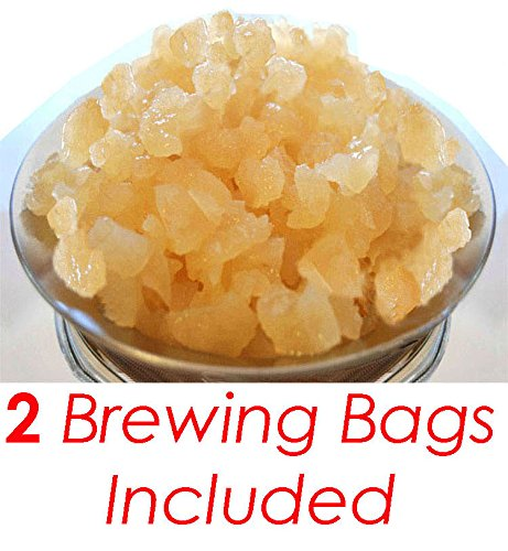 1/2 Cup Organic Original Water Kefir Grains Exclusively from Florida Sun Kefir with 2 Brewing Bags (Live Water Kefir compare prices)
