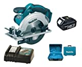 Makita 18V LXT BSS611 BSS611Z BSS611Rfe Circular Saw, BL1830 Battery, DC18RC Charger And Case