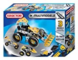 Erector 3 Multi Model Building Set