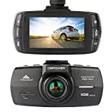 DBPOWER 2K FHD DVR Dash Cam, 2560x1080 2.7