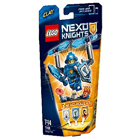 Clay l'ULTIME chevalier-70330-LEGO Nexoknights