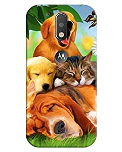 FurnishFantasy 3D Printed Designer Back Case Cover for Motorola Moto G4 Plus,Motorola Moto G4