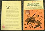 img - for Rules, roles, and relations (Beacon paperback, 506) book / textbook / text book